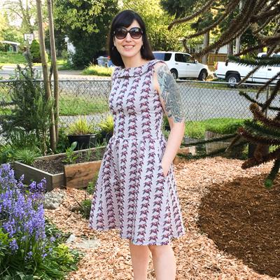 Colette Patterns Moneta Dress