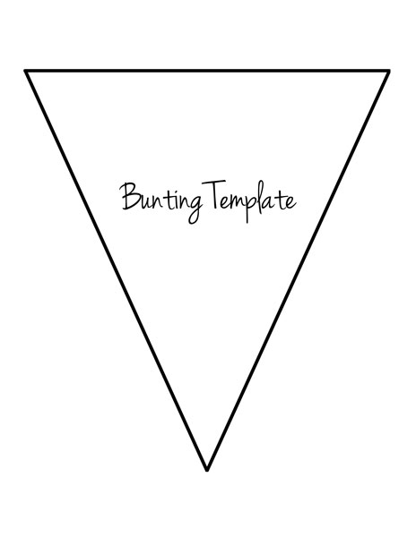 bunting_template