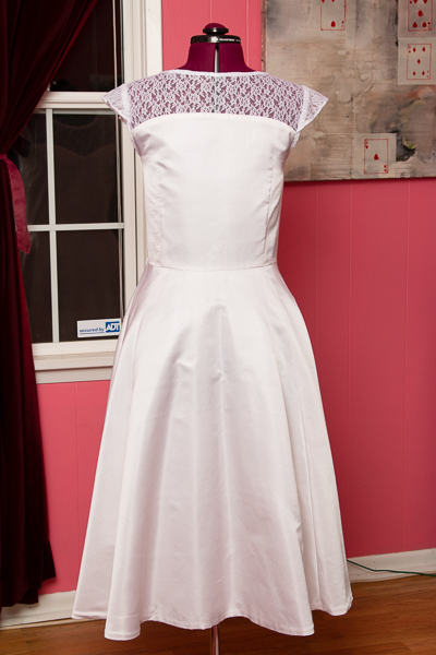 Victory Patterns Ava wedding dress