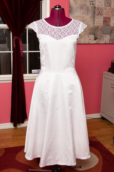 Victory Patterns Ava wedding dress